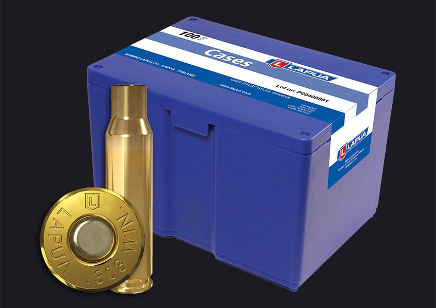 Lapua - .308 Win. Reloading Cases x 100
