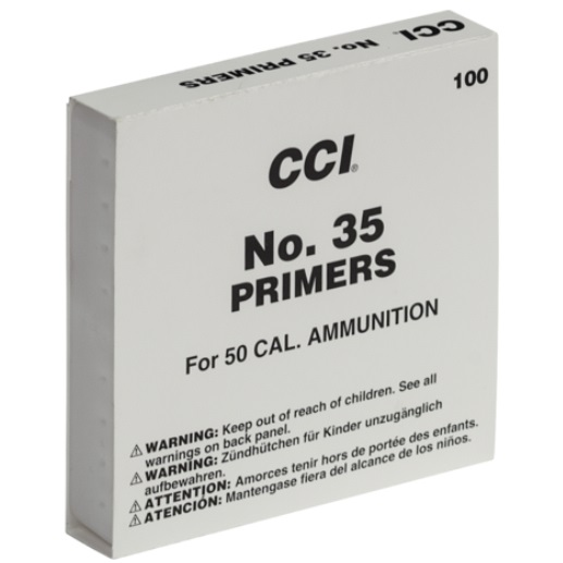 CCI #35 Primers BMG Primers (100)