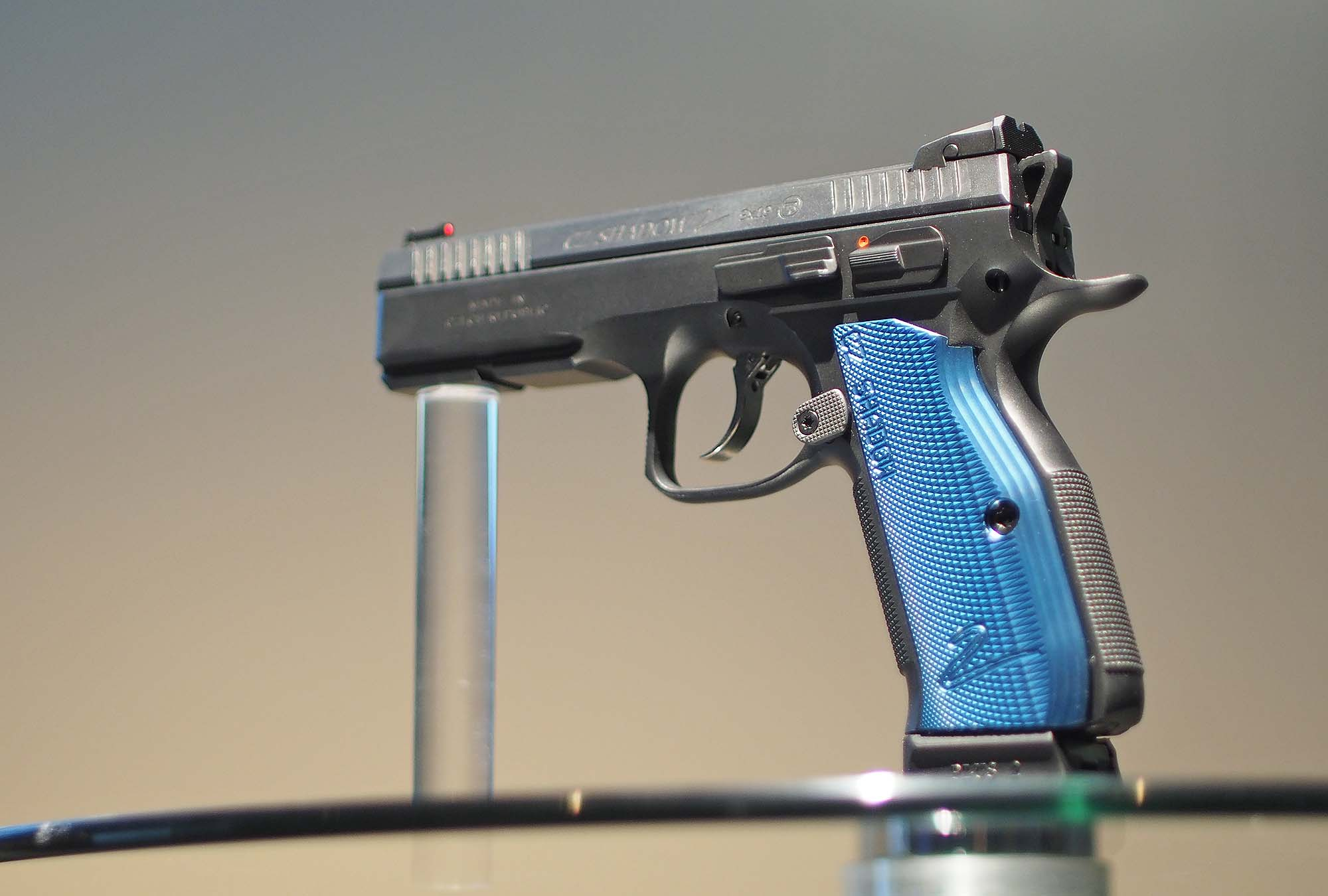 CZ Shadow 2 Black and Blue