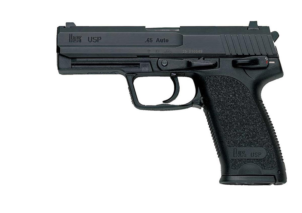 Heckler & Koch HK 45 V3 Black