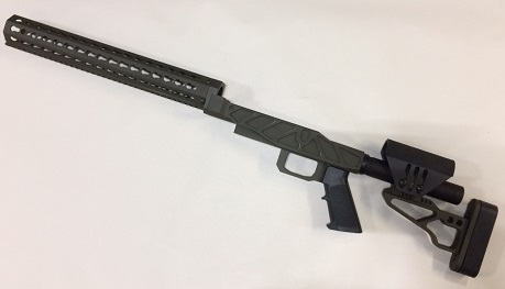 XG PRS PRO Chassis Remington 700 Short OD GREEN CERAKOTE