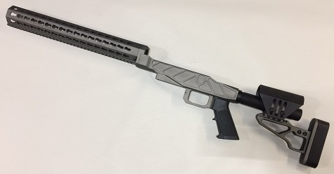 XG PRS PRO Chassis Remington 700 Short TUNSTEN CERAKOTE
