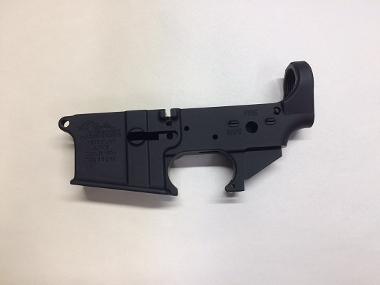 Anderson Arms AR 15 Striped Lower Receiver