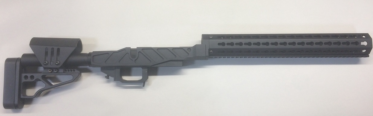 XG PRS PRO Chassis Remington 700 Short Black Cerakote