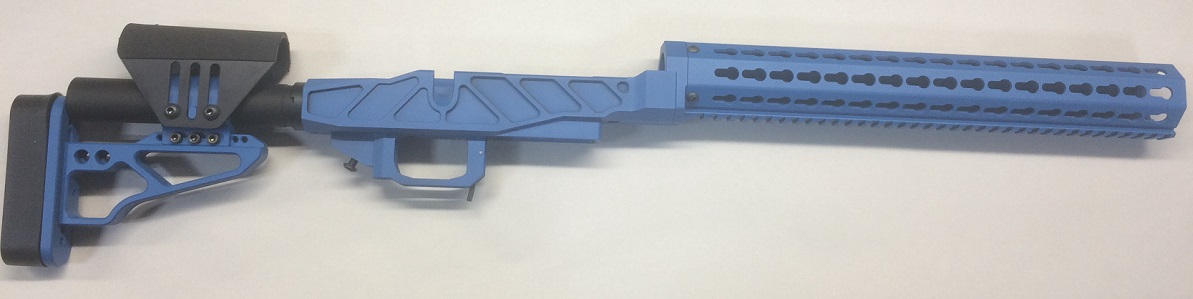 XG PRS PRO Chassis Remington 700 Short Blue CERAKOTE