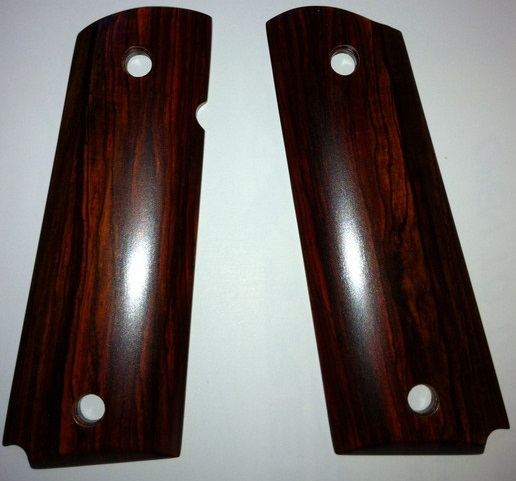 1911 cocobolo smooth grip panels