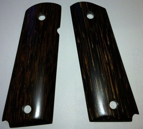 1911 heart of palm smooth grip panels