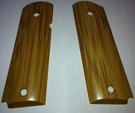 1911 Bamboo smooth grip panel