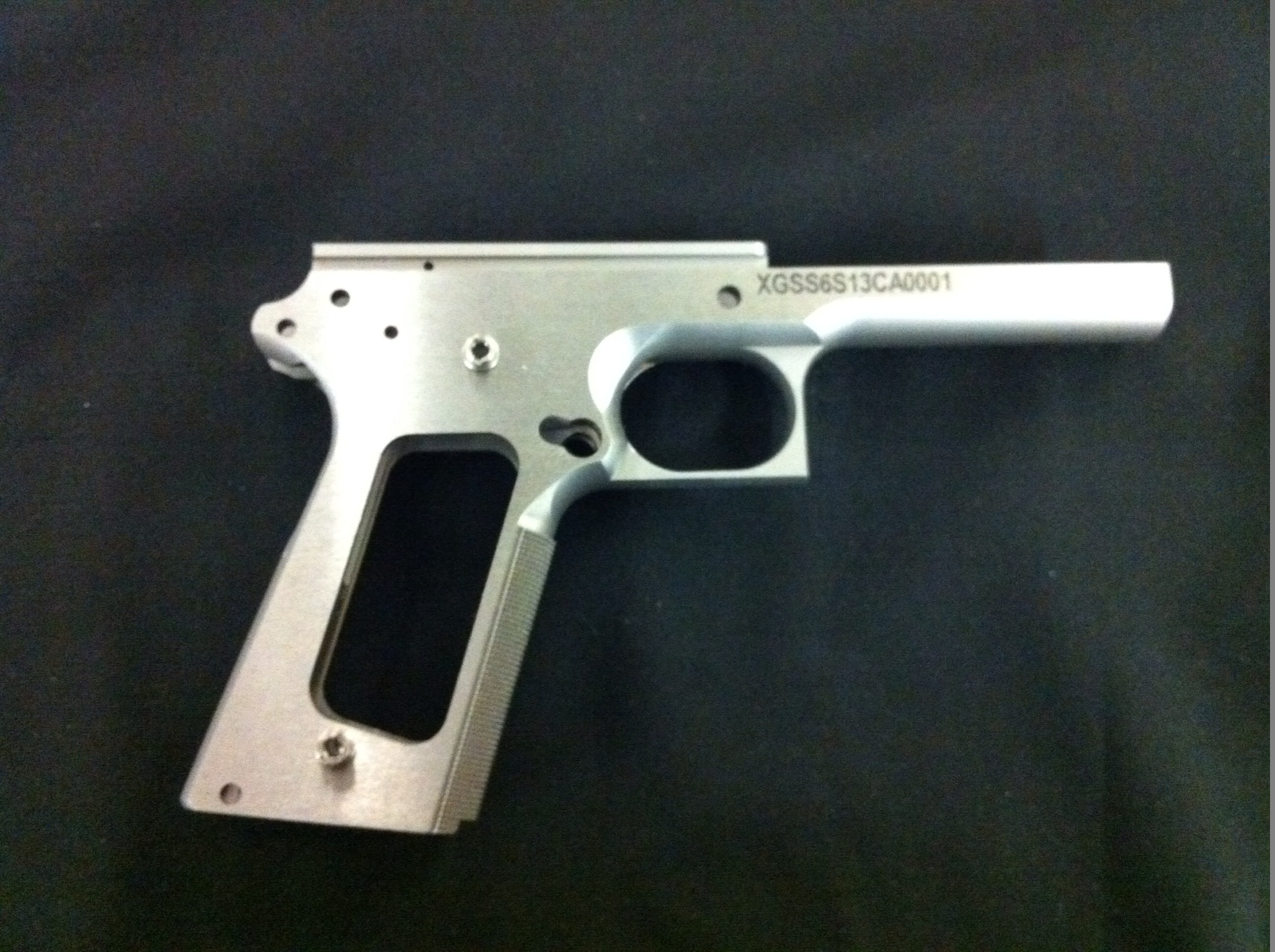 "Xtreme Gun 1911 6"" Forged Stainless Frame 40SW"