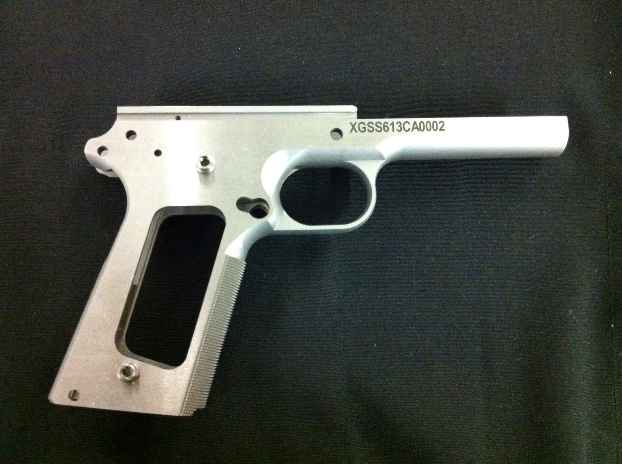 "Xtreme Gun 1911 6"" Forged Stainless Frame 40 SW"