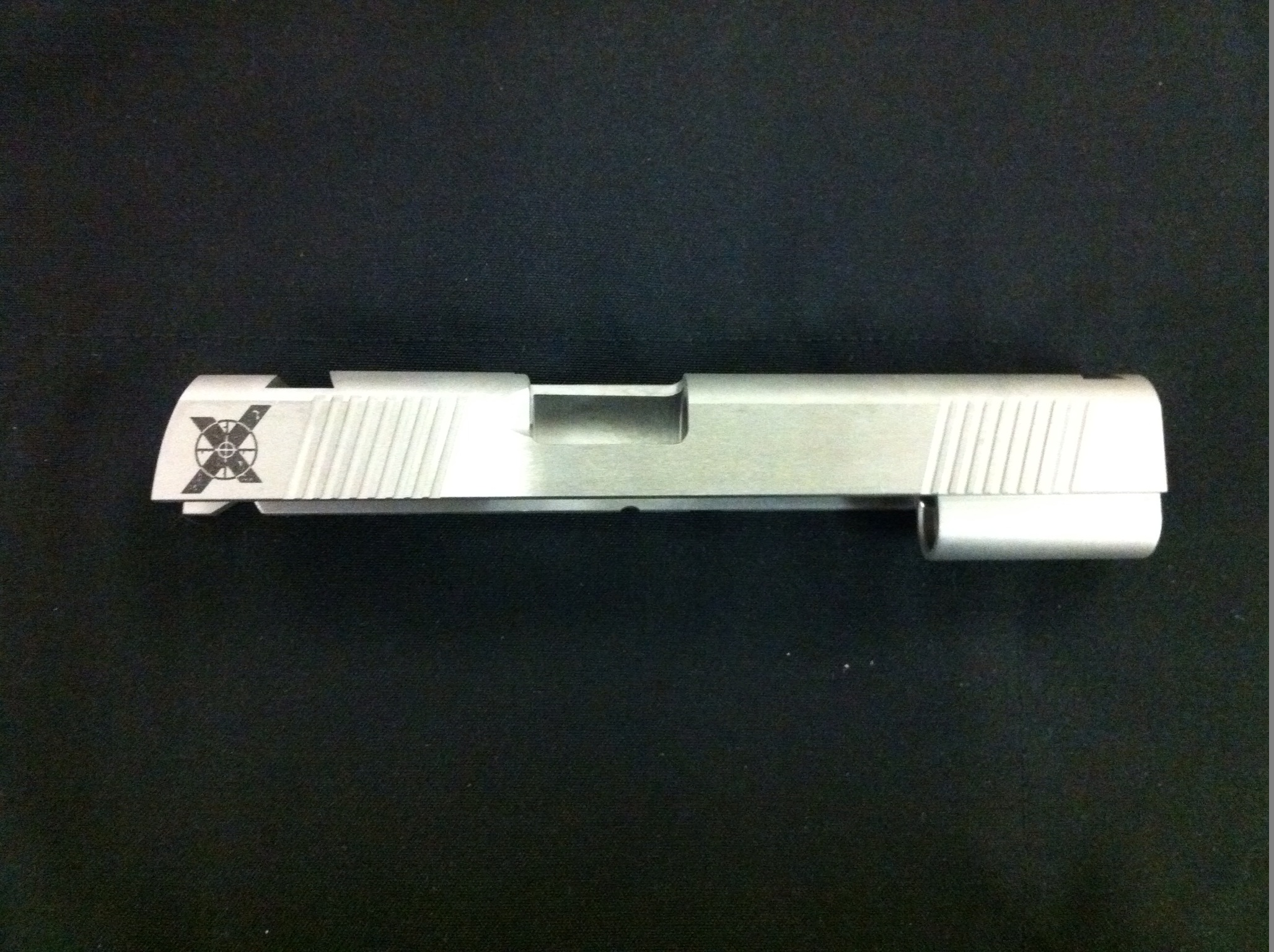 "Xtreme Gun 1911 5"" Forged stainless Slide no cut 40SW"