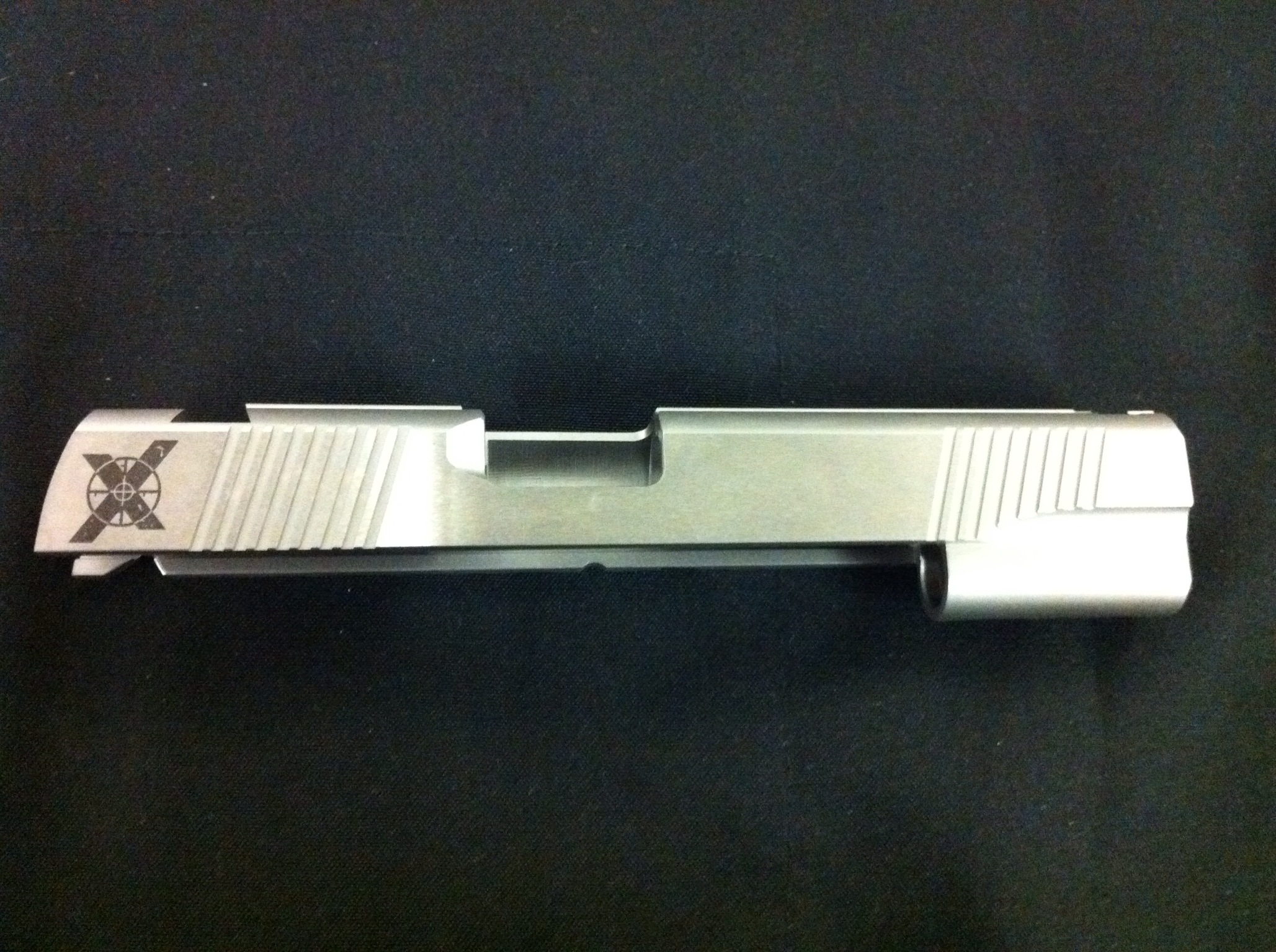"Xtreme Gun 1911 5"" 40SW Forged stainless Slide serrated top"