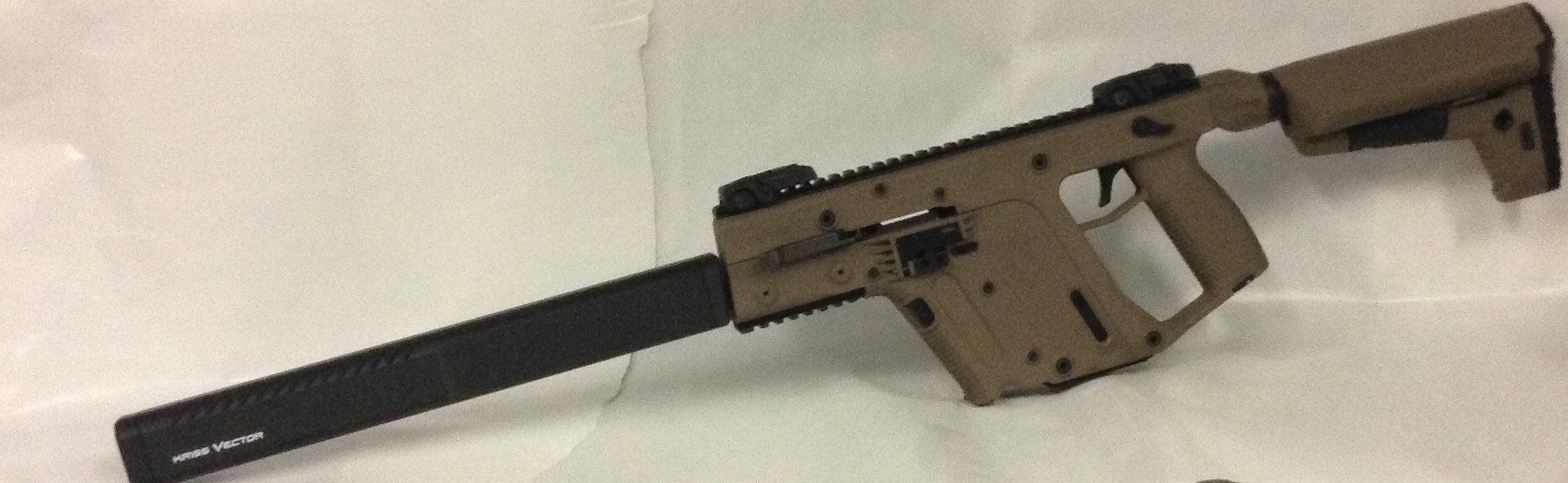 Kriss vector 45ACP Non Restricted G2 FDE