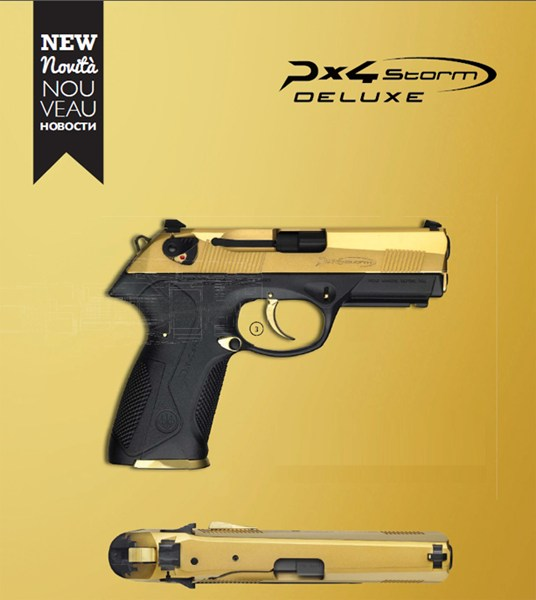 PX4 Deluxe 9mm Limited Edition Gold