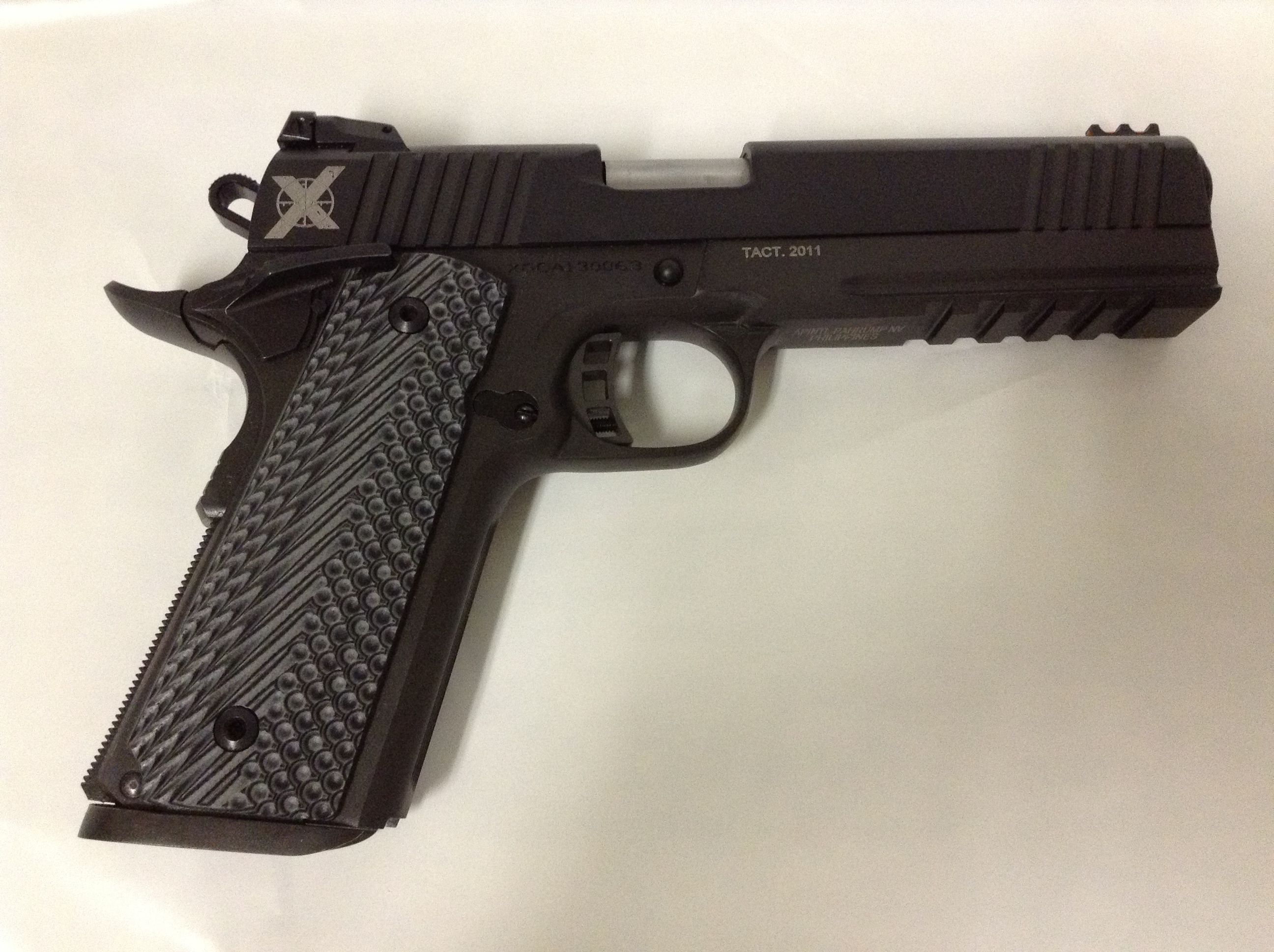 Xtreme Gun 1911 Railed 45ACP with VZ Grips