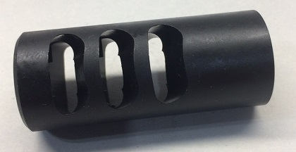 Hellion Muzzle brake 3 Port 6.5 cal 5/8-24