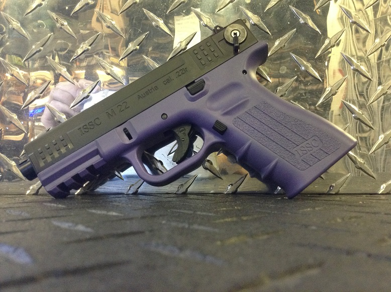 ISSC M22 purple Frame