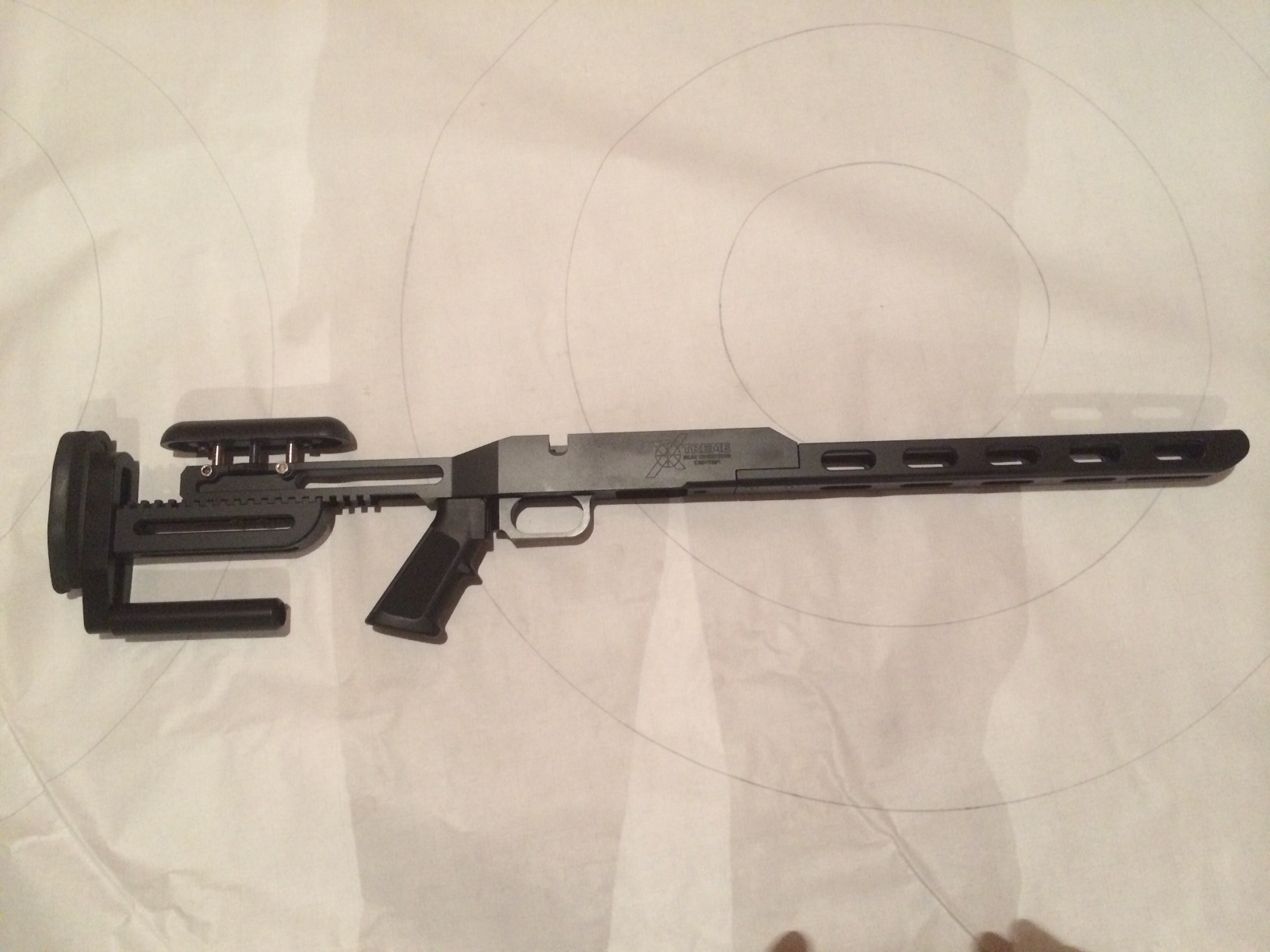Xtreme Gun Borden Rimrock BR chassis/Stock Single Shot
